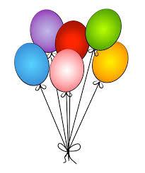 circus balloon birthday party circus balloons stock illustration illustration