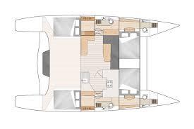 Catamaran Floor Plans by Barefoot 40 Sailing Catamaran Grainger Designs Multihull Yachts