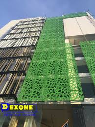 new style metal fence aluminum laser cut carver panel for exterior