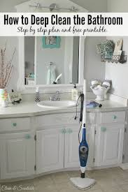 how to deep clean how to deep clean the bathroom clean and scentsible