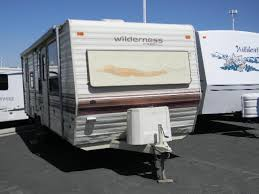 1990 fleetwood wilderness 26h travel trailer roy ut ray citte rv