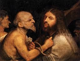 christ carrying the cross titian wikipedia