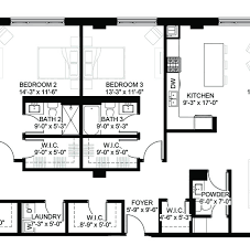 Floor Planning by Luxury Condos Lincoln Park Webster Square Condos