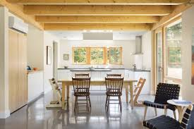 prefab homes from go logic offer rural modernism assembled in 2 in addition to a handsome aesthetic and speedy construction the homes are designed to passive house standards making them air tight comfortable