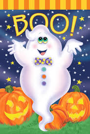 cute ghost garden flags halloween wikii