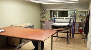 Art Studio Desk by Printmaking Studio