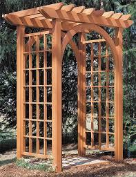 Arbor Trellis Ideas Garden Arbor Crafts Home