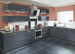 cuisine gris anthracite meuble de cuisine gris anthracite idée de modèle de cuisine