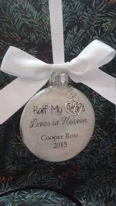 personalized photo memorial ornament in loving memory