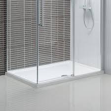 1400 Shower Door Rectangular Shower Tray 1000 X 760 Plumb En Suite