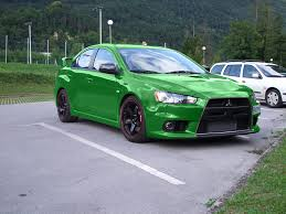 mitsubishi green what color would you wrap your evo archive evoxforums com