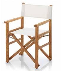 chaise metteur en fauteuil metteur en scène bois et toile pliant ramberti