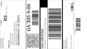 printable job application for ups ups electronic return label view print label
