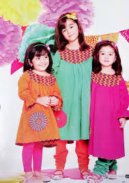 latest winter eid collection 2012 for children by nishat linen