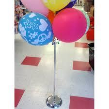 balloon sticks stand for balloon sticks chrome 30 h the party bazaar