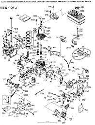 tecumseh hmsk110 159954b parts diagram for engine parts list 1