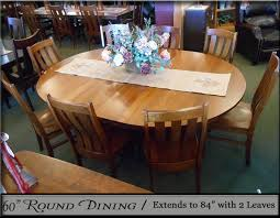 60 In Round Dining Table Al U0027s Furniture Dining Furniture Modesto Ca