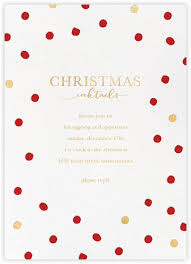 Invitation Paper Christmas Invitations Online At Paperless Post