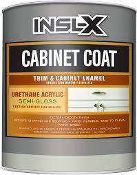 semi gloss vs satin white kitchen cabinets insl x cc560109a 44 cabinet coat semi gloss paint 1 quart white