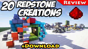 minecraft 20 redstone creations download for redstone smart