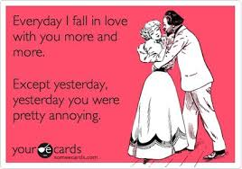 Funny Love You Meme - everyday i fall in love with you more and more