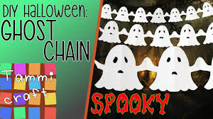 how to make a paper chain of ghosts great for kids ghost