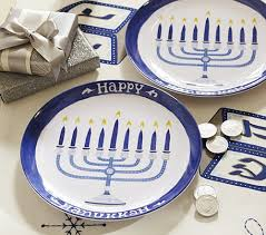 hanukkah plates happy hanukkah design sponge