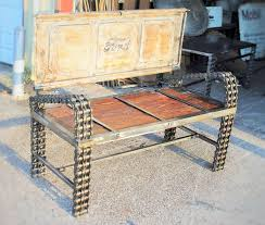 truck tailgate benches for sale by recycled salvage design www