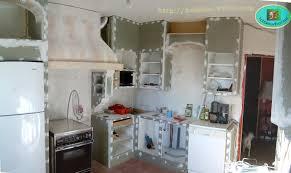 construire une cuisine gres cerame plan de travail cuisine 2 cr233er et construire sa