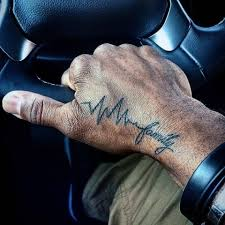 21 touching heartbeat tattoo ideas for men styleoholic