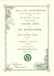celtic wedding invitations and stationery