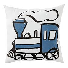 train throw pillow the land of nod