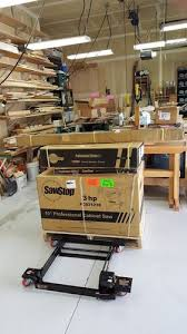Sawstop Industrial Cabinet Saw Sawstop Assembly 2 Completed Saw Assembly By Happyhowie