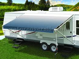 Rv Awning Protective Cover 18 Foot Pioneer Vinyl Rv Awning Blue Gator