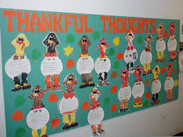 thanksgiving bulletin board ideas elementary thankful thoughts