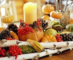 Autumn Table Decorations 30 Ideas For Autumn Table Decoration With Pumpkins For