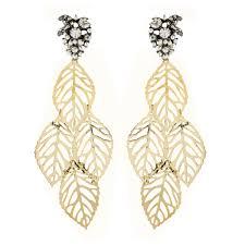 Chandelier Gold Earrings Filigree Chandelier Earring Shop Amrita Singh Jewelry