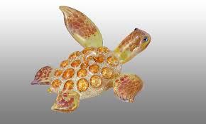 sea turtle ornaments working glass