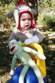 Sock Monkey Halloween Costume Easy Diy Halloween Costumes Sock Monkey Homemade Ginger