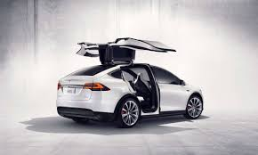 suv tesla inside tesla u0027s first model x electric suvs sell for 132k