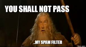 Spam Meme - how to improve email delivery with avoiding the spam folder