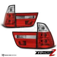 2002 bmw x5 tail light assembly bmw e53 x5 00 06 led tail lights l red smoke rear brake running