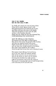 Robert Burns Halloween Poem Translation Call It All Names But Do Not Call It Rest By Vernon Watkins