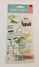 wedding scrapbook stickers jolee s boutique wedding cardmaking scrapbooking stickers ebay