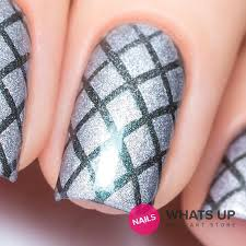 whats up nails diamond pattern stencils u2013 daily charme