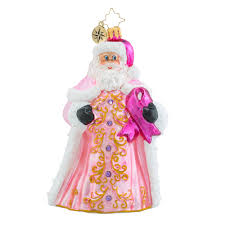 christopher radko ornaments radko perfectly pink gent breast