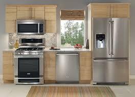 Steel Kitchen Backsplash Modern Design Stainless Steel Kitchen Appliance Package Kitchen