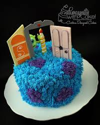 monsters inc cake by always with cake via flickr