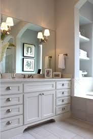 Master Bath With White Cabinets And Vanity Seat Master Bath - White cabinets master bathroom