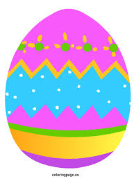 coloured templates easter egg templates in color happy easter 2017
